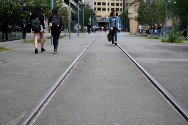 Walk the Line on the Goods Line