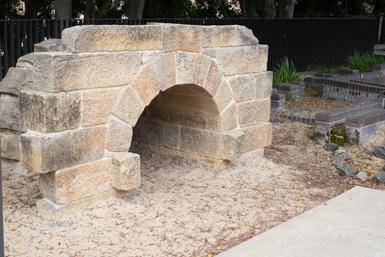 Sandstone culvert