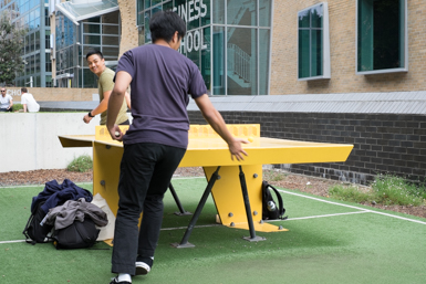 Table Tennis on the Goods Line