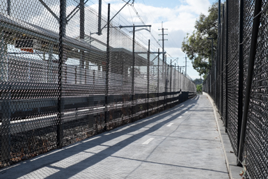 Walkway to Sydney Trains Clyde Precinct