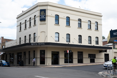 The Royal Hotel in Granville