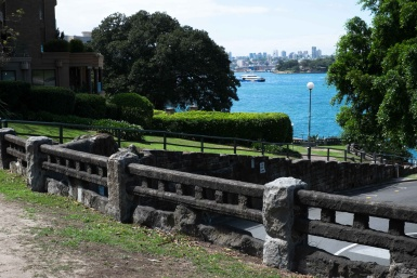 Views from a Kirribilli Park