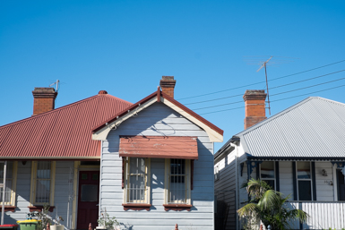 Cottages in Albion St