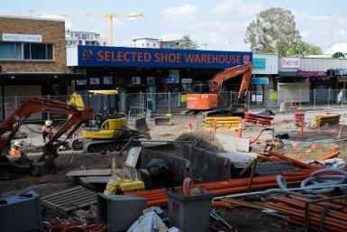 High Street Road Works Penrith
