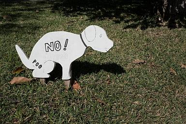 No Poo Sign
