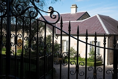 Behind the Gate in Hunter's Hill