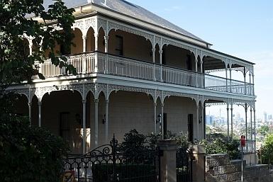 Mansion in Hunter's Hill