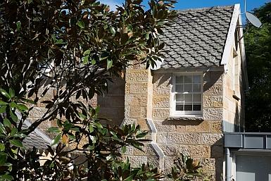 Sandstone Cottage in Hunter's Hill
