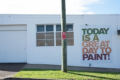 Paint Shop on Canterbury Road