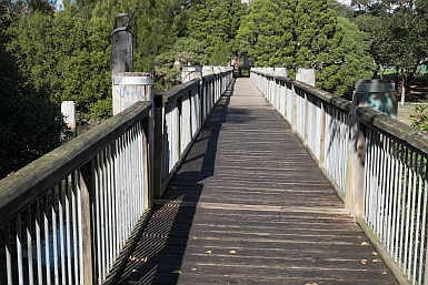 Pedestrian Bridge over Cooks River