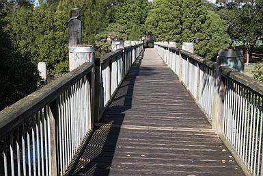 Pedestrian Bridge over Cooks River