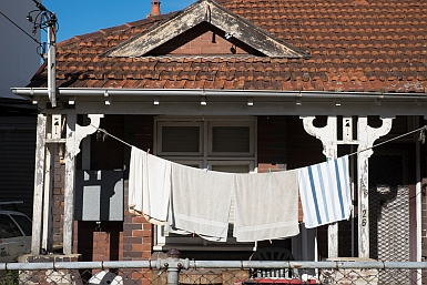 Towels on Veranda