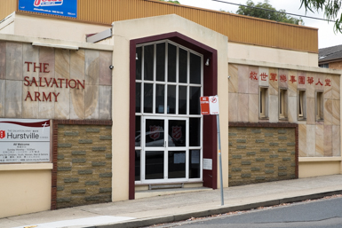 Salvation Army in Hurstville