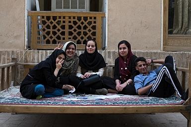 Young Folk in Iran