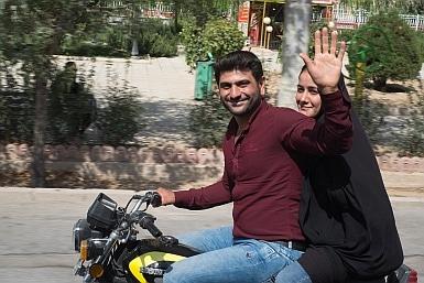 Friendly Locals in Iran