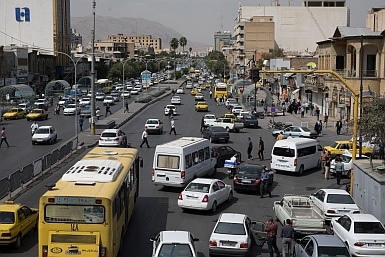 Traffic in Iran