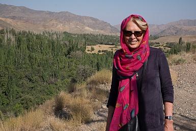 Outside Abyaneh