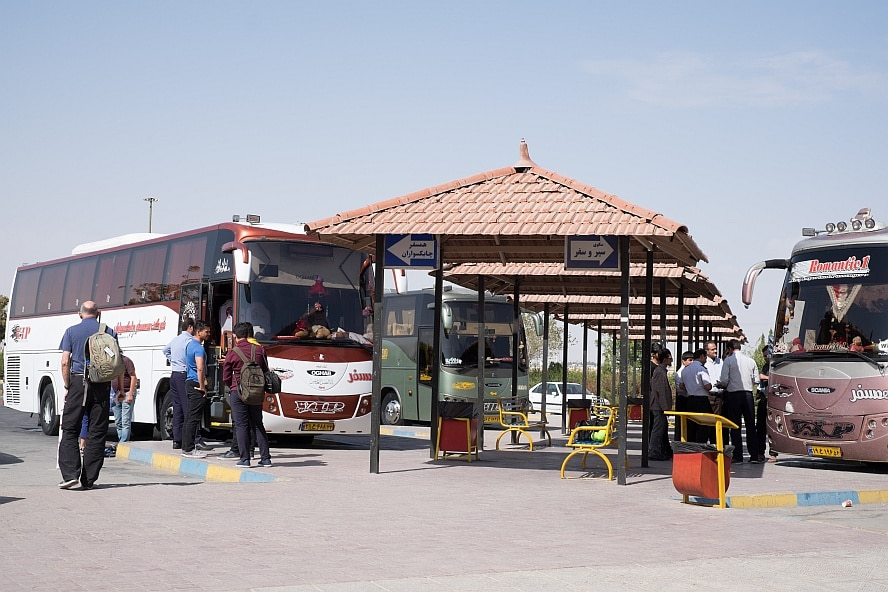 Bus Station in Iran