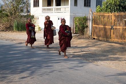 Novice Monks in Kalaw