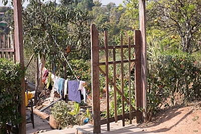 Gate and Washing in Kalaw