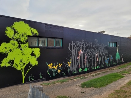 After the bushfires art in Kingscote