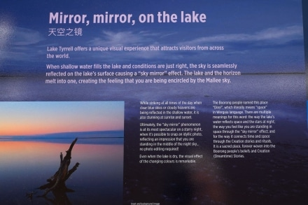 Sky Mirror on Lake Tyrrell