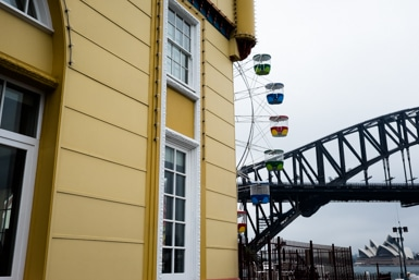 Luna Park,Sydney Opera House, Sydney Harbour Bridge