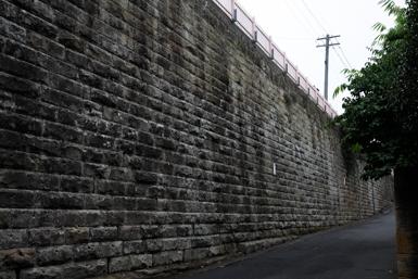 Lavender Bay Heritage Wall