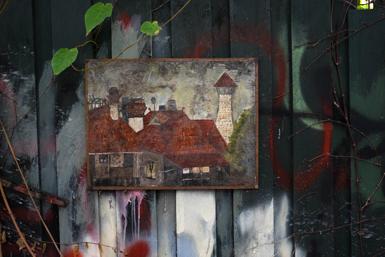 Artwork in Lavender Bay