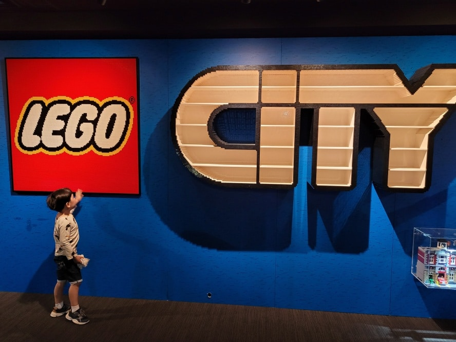 Brickman Experience Lego Sydney