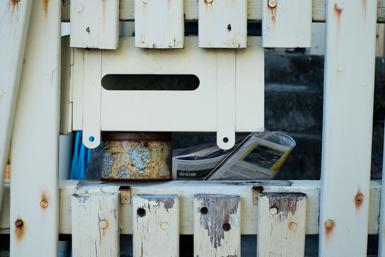 Letterbox detail in James Street Leichhardt
