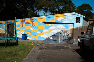 Outdoor Public Art in Leichhardt