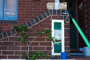 Original detail of house in Leichhardt