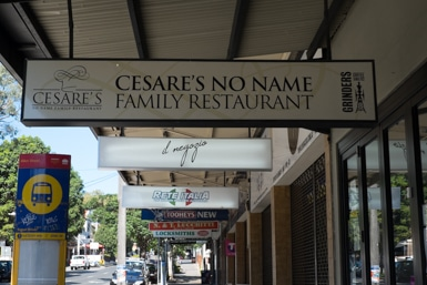 Italian Family Business in Leichhardt