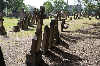 Headstones at Rookwood