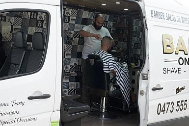Barber on Wheels