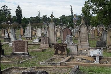 Headstones Rookwood Cemetery