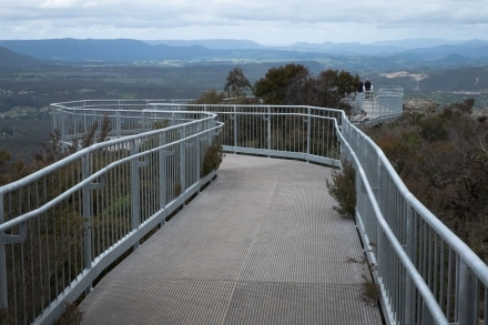 The highest scenic lookout in the Blue Mountains