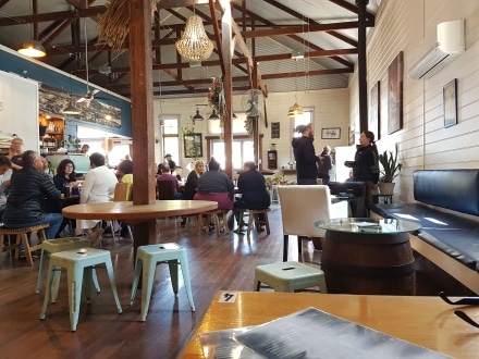 Inside the Tin Shed