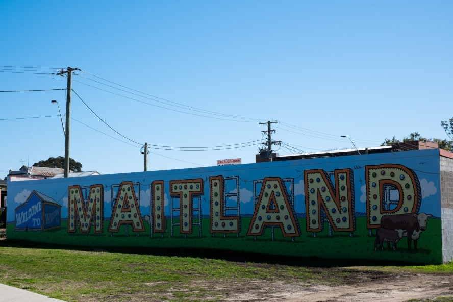 Welcome to Maitland Mural