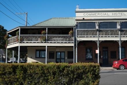 Balustrade of Commercial Hotel Morpeth