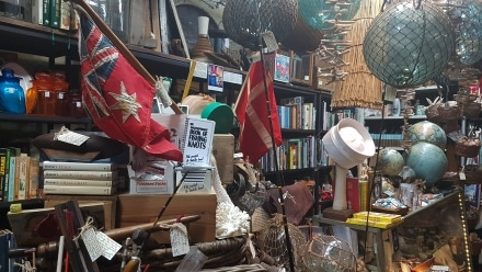 Trash or treasure in Campbell's Store Morpeth