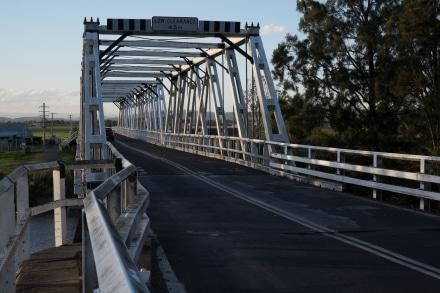 Morpeth Bridge over the Hunter River