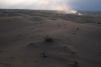 Sunset in the Iranian Desert