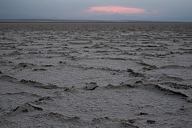 The Salt Lake of the Maranjab Desert