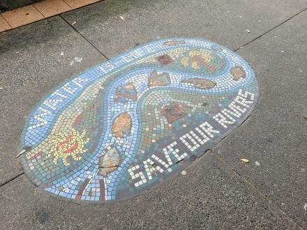 Save our Rivers Mosaic