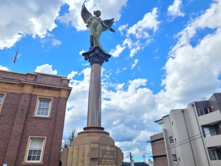 New Winged Victory in Marrickville outside the Town Hall