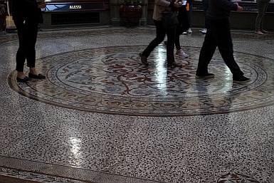 Tiled floor of The Block Ardade