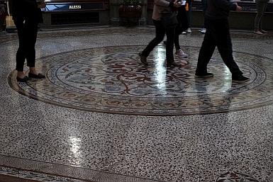 Tiled floor of The Block Ardade