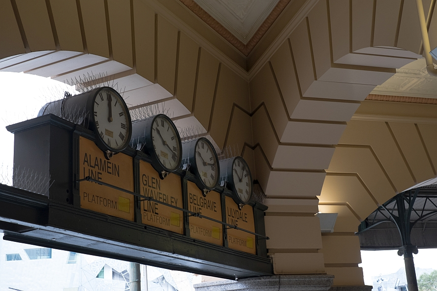 Clocks at Flinders Street Station